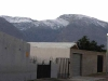 Snow was already falling on the mountains at De Doorns in May 2010  making life even more unpleasant for those living in tents. 