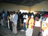 People in rural Matabeleland pray