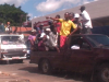 ZANU Youth in commandeered vehicles