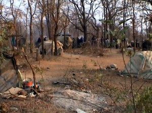 Report Cover Photo: Informal mining settlement in Matabeleland