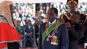 Robert Mugabe Inaugurated as President for the 7th time